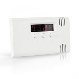 Temperatuur detector met...
