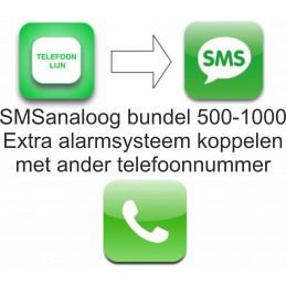 SMSanaloog extra alarm...