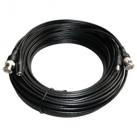 Combicoax kabel RG59 met voeding 20 meter