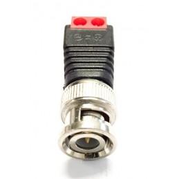 BNC male connector met 2 schroefconnectors voor beveiligingscamera